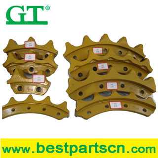 sk200-8 sprocket Excavator Chain sprocket for excavator sprocket rim