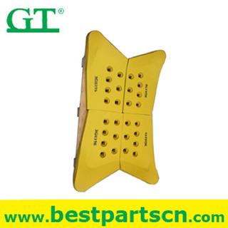Boron Steel Grader bulldozer cutting edge End Bit