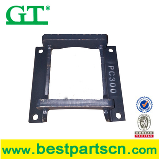 E345 excavator and bulldozer track chain guard