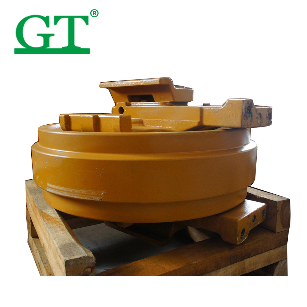 Excavator Undercarriage parts newly developed track idller front idler D155AX-6/D155A-3/D41P-6/D61PX-12/D65EX-12/TD15C